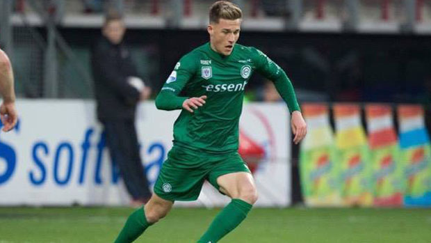 Aussie midfielder Ajdin Hrustic scored for FC Groningen in the Eredivisie overnight.