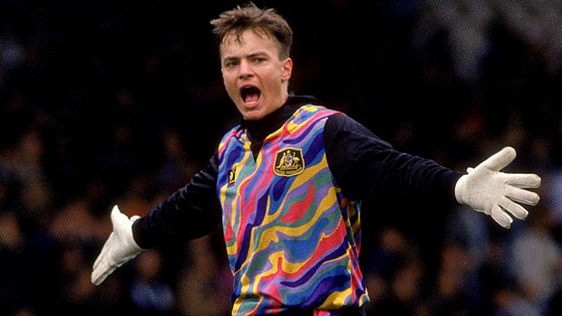Mark Bosnich in his Socceroos days
