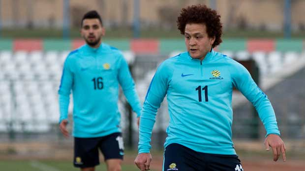 Aussie Mustafa Amini played a full 90 minutes overnight in the Danish Superliga but wasn't able to inspire his AGF side to a win.
