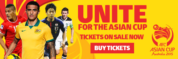 AFC Asian Cup Australia 2015 tickets on sale