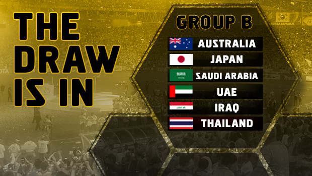 The Socceroos' group for the final stage of AFC qualifying for Russia 2018.