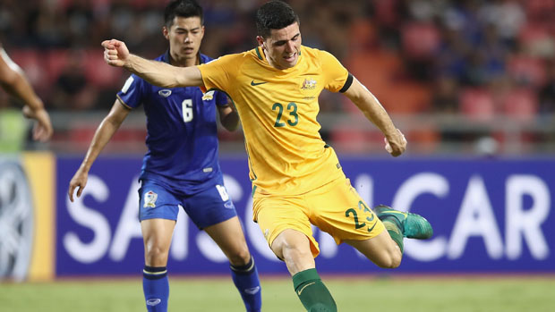 The Caltex Socceroos have slipped to third after MD5 in World Cup Qualifying.