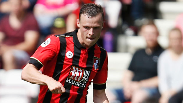 Defender Brad Smith during AFC Bournemouth's pre-season clash against Cardiff City.