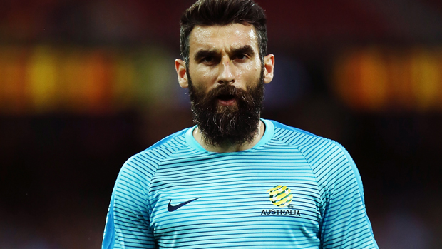 Mile Jedinak was a notable absentee from Socceroos training on Sunday afternoon.