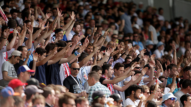 More than 15,000 fans watched Melbourne City FC take on Newcastle Jets.