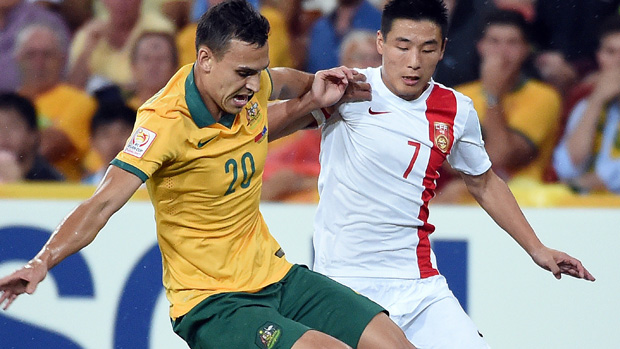 Trent Sainsbury has enjoyed a smooth transition to the Chinese Super League.