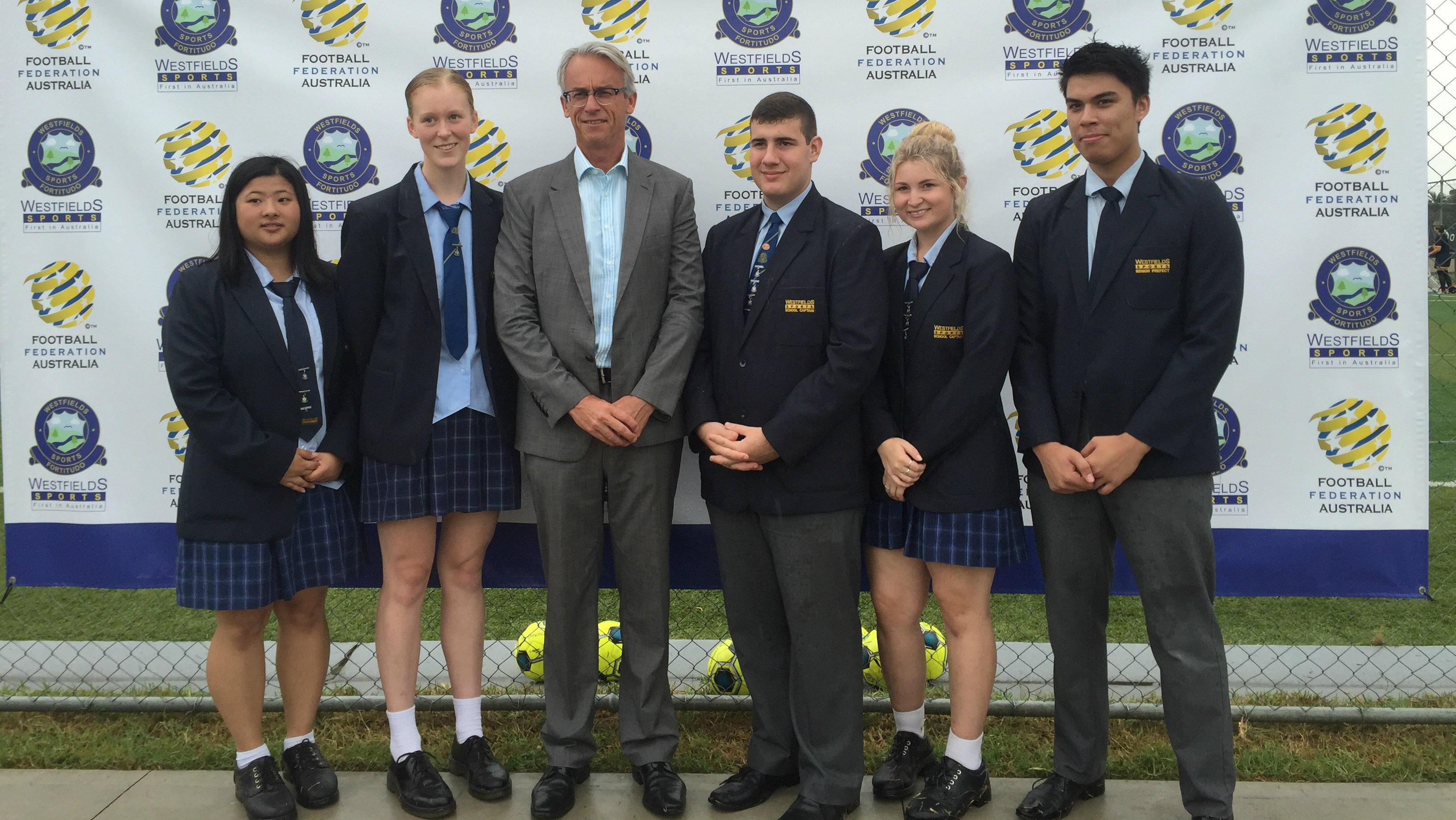 David Gallop at Westfield Sports High.