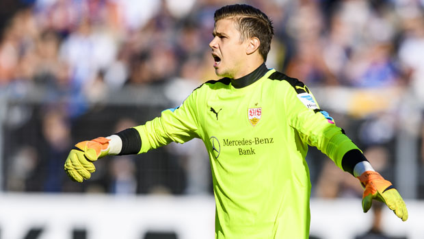 Mitch Langerak kept a clean sheet in Stuttgart's 2-0 win over Kaiserslautern.
