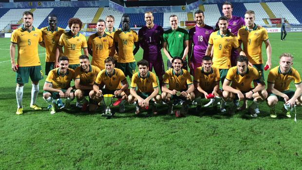 Jamie Maclaren netted the winner for the Olyroos.