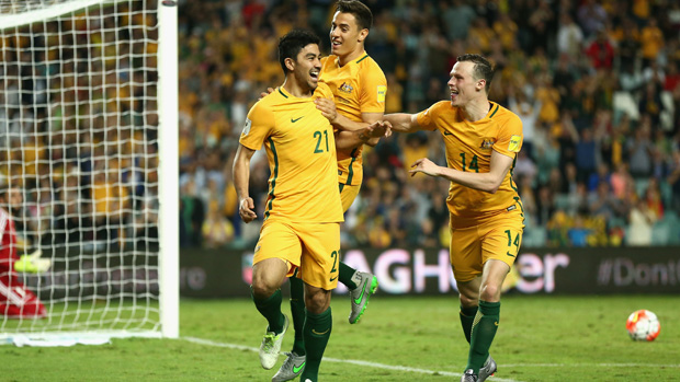 The Caltex Socceroos will host UAE in a World Cup Qualifier at Allianz Stadium in March.