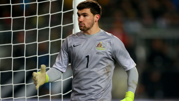 Goalkeeper Mat Ryan has been ruled out of the Socceroos squad to face Bangladesh and Tajikistan.
