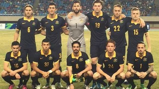 The Olyroos starting XI for their AFC U-23 Championship qualifier against Chinese Taipei.