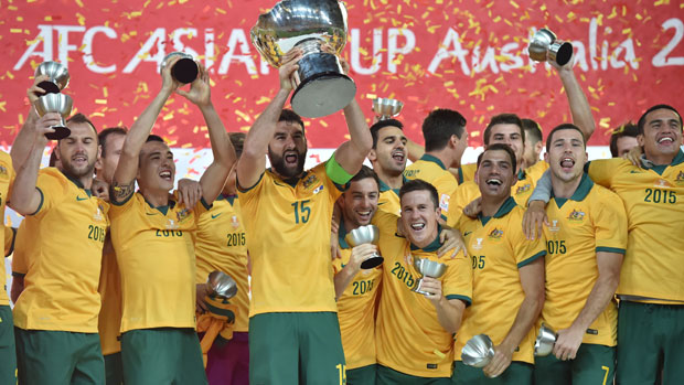 The Socceroos won team of the year for their historic AFC Asian Cup triumph.