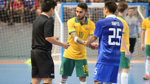 Futsalroos fell to Thailand 5-3 in the AFF Futsal Championship Final.