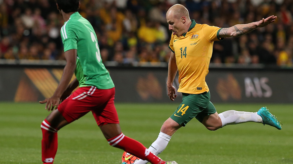 Aaron Mooy was one of the Socceroos best against Bangladesh.