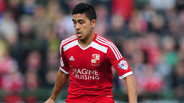 Massimo Luongo's Swindon Town were beaten at Wembley in the League One playoff final.