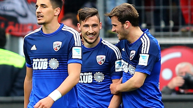 Mat Leckie scored for Ingolstadt in Germany overnight.