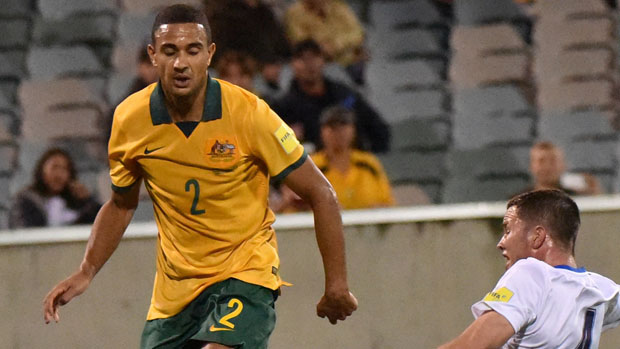 James Meredith was outstanding in his debut for the Socceroos.