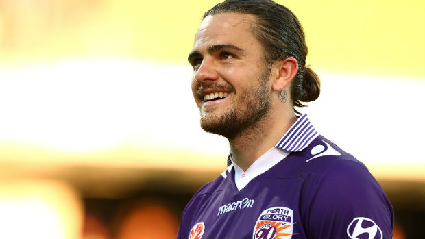 Perth Glory defender Josh Risdon is one of five Hyundai A-League players named in the latest Caltex Socceroos extended squad.