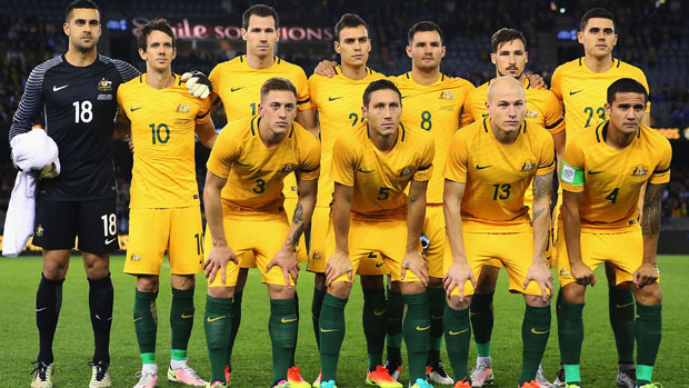 Socceroos starting XI
