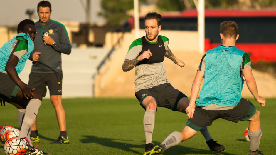 Gallery: Olyroos get to work in Doha