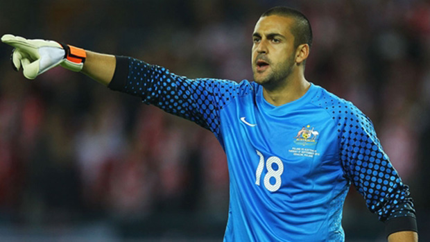 Adam Federici is in line to start against Jordan on Friday morning (AEDT).