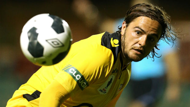 Perth Glory defender Josh Risdon