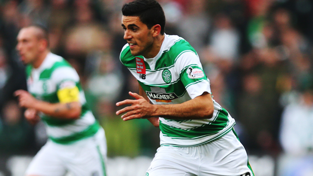 Tom Rogic starred in Celtic's 7-0 win over Motherwell.