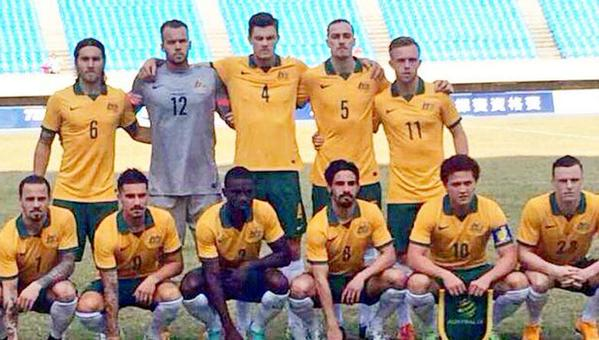 The Olyroos starting XI for their AFC U-23 Championship qualifier against Hong Kong.