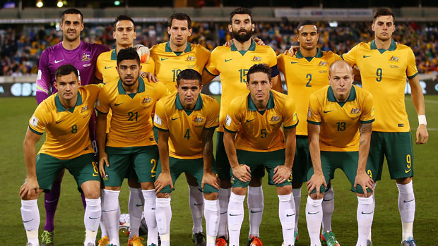 Socceroos starting XI against Kyrgyzstan in Canberra.