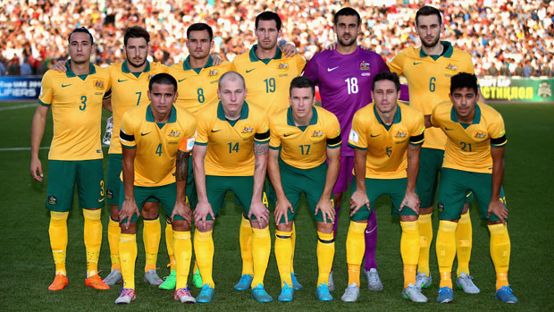 The Starting XI the last time the Socceroos played Tajikistan.