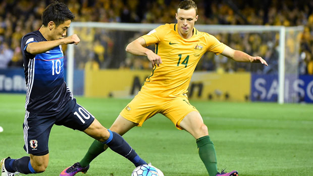 Brad Smith was one of Australia's best in their 1-1 draw with Japan.
