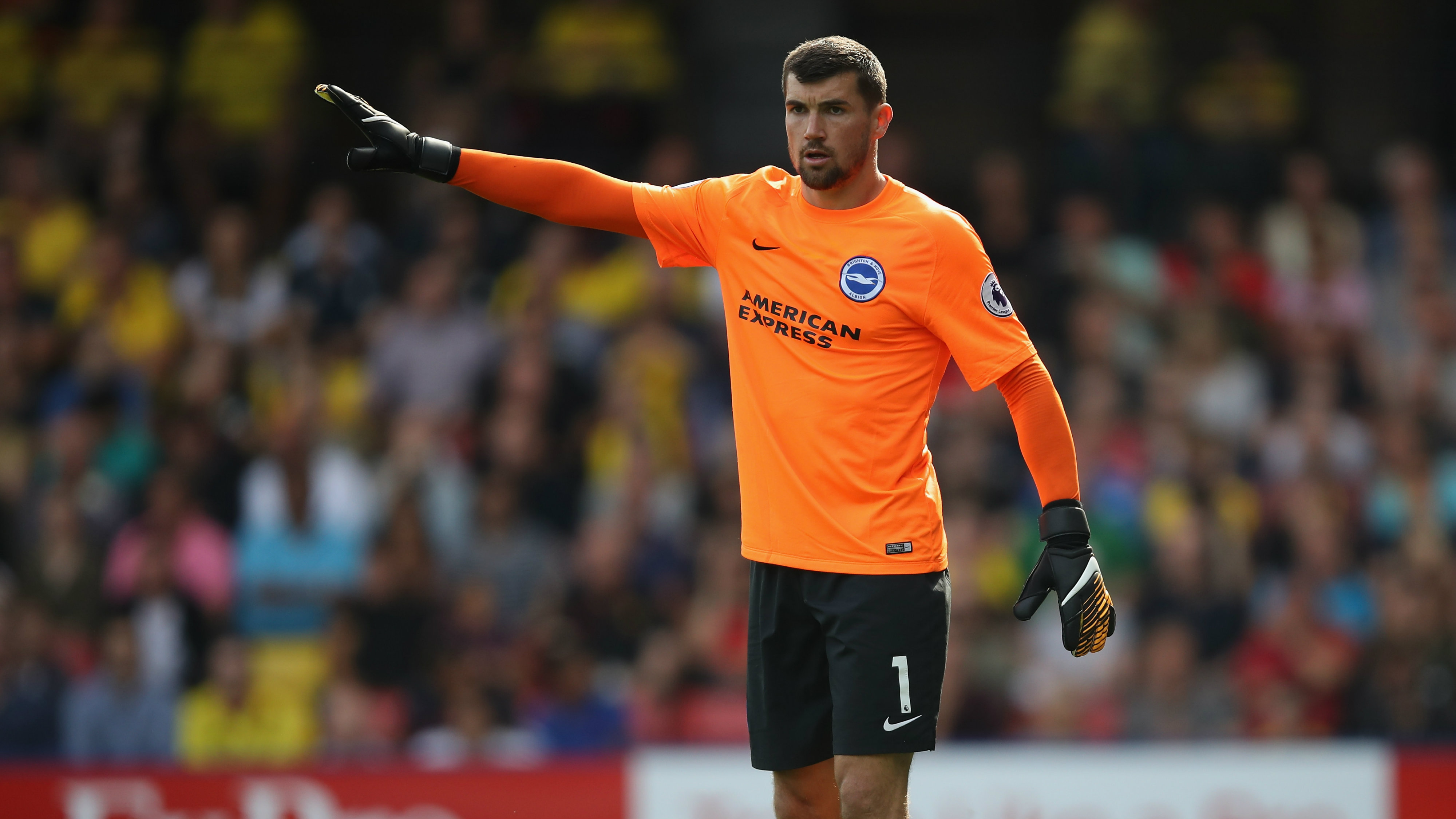 Mat Ryan kept a clean sheet in Brighton's 0-0 draw overnight.
