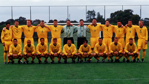 Olyroos Team Photo