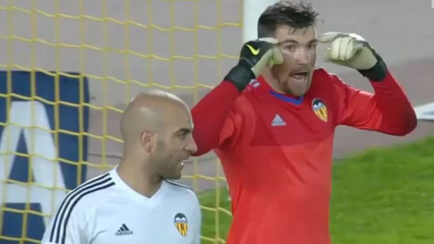 Mat Ryan starred in Valencia's Copa Del Rey win over Las Palmas.