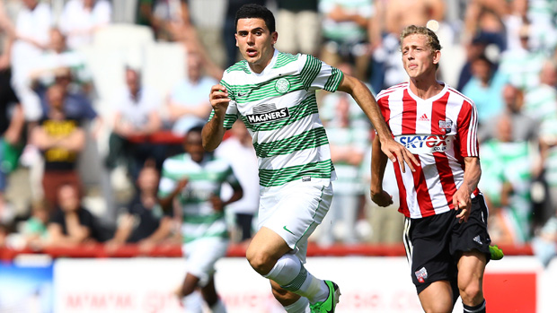 Rogic in action for Celtic back in 2013.