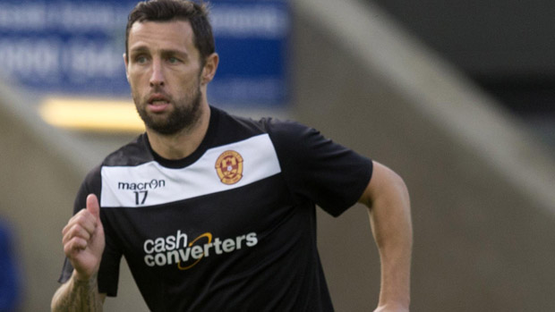 Scott McDonald was outstanding in Motherwell's 2-1 upset win over Celtic.