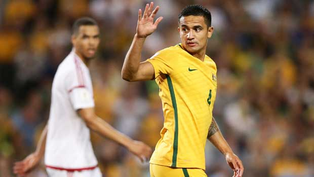 Tim Cahill says the Caltex Socceroos produce their best when critics write them off.