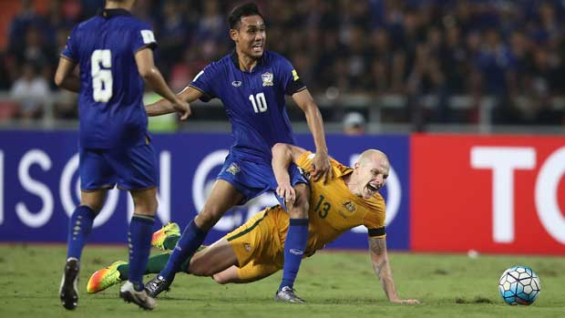 Aaron Mooy against Thailand