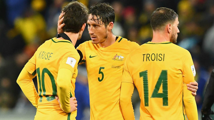 The Caltex Socceroos will face Syria in a World Cup Qualification playoff.