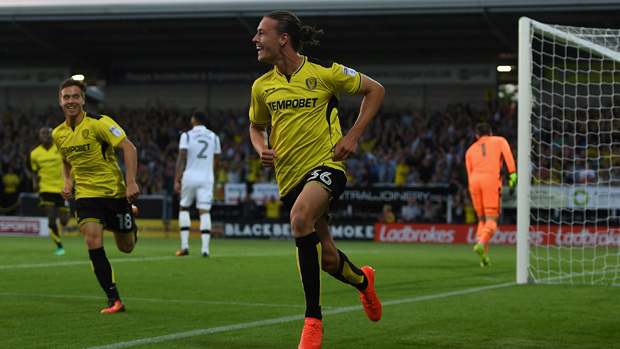 Jackson Irvine found the net again in England overnight.