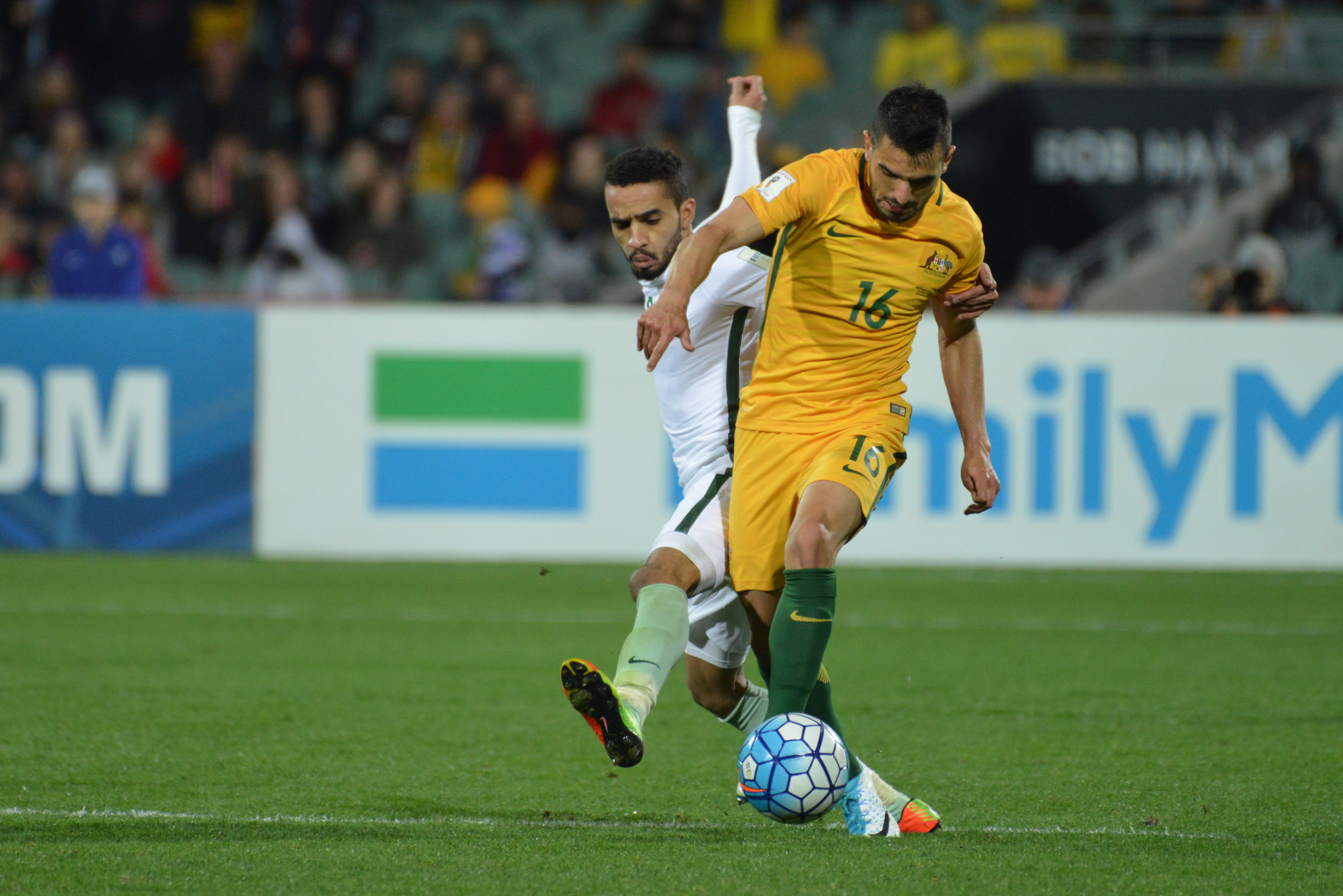 Left wing-back: Aziz Behich