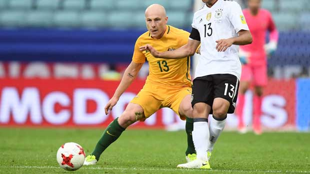 Aaron Mooy against Germany
