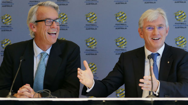 David Gallop and Steven Lowy