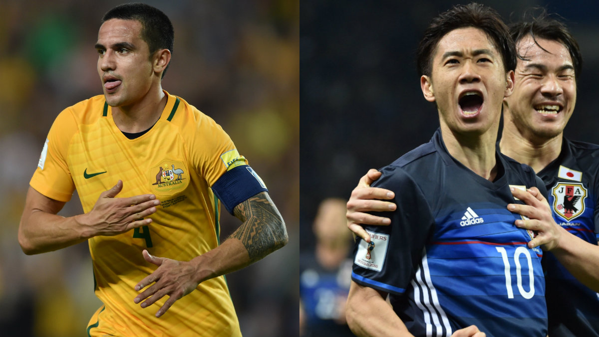 Australian could be meet Japan in the next stage of World Cup Qualifying.