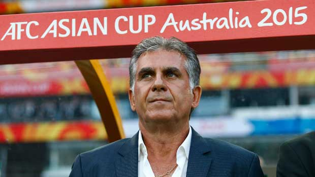 Iran boss Carlos Queiroz says Australia is a stronger team than Iraq.