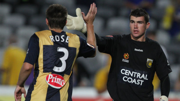 Former Central Coast Mariners goalkeeper Mat Ryan.