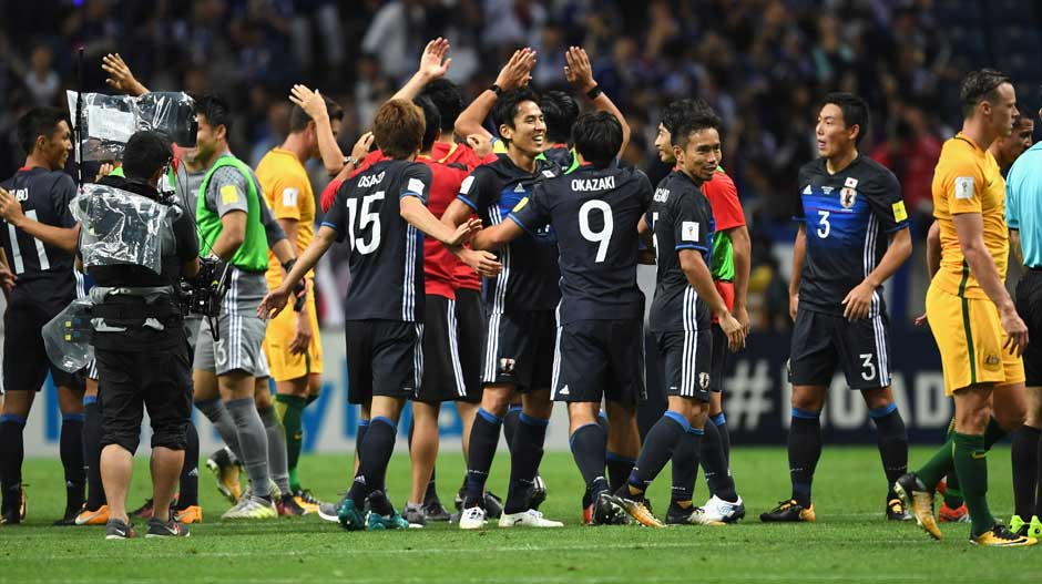 At full-time it was Japan celebrating as they booked their spot in Russia in 2018.