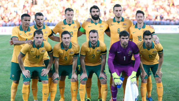 The Socceroos starting XI for their opening 2018 World Cup qualifier against Kyrgyzstan.