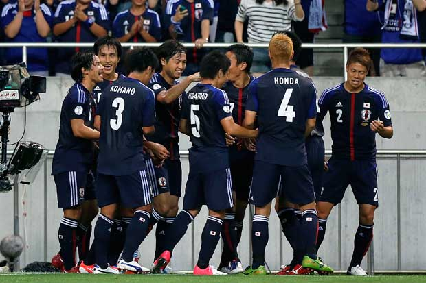 Japan one step closer to Brazil